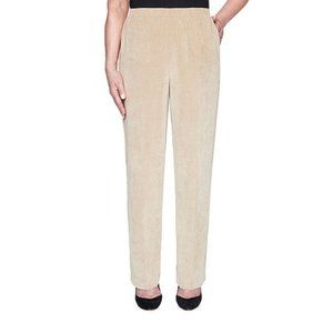 NWOT Alfred Dunner Corduroy Pants Size 10P
